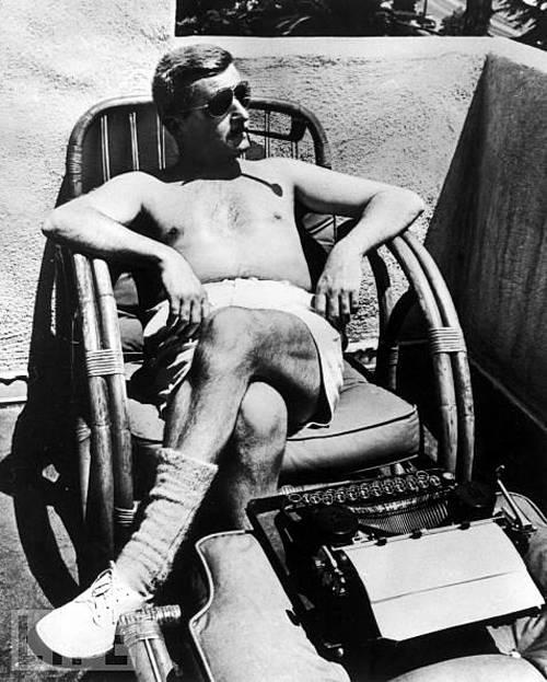William Faulkner, 1943. Revista Life.